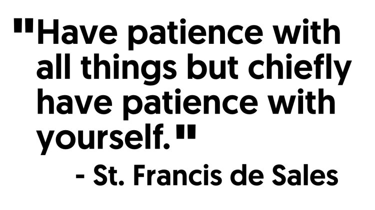 saint francisis desales quote for valentines day - Quote of the Day 12 – The Social Interest